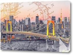 Картина Радужный мост в Токио