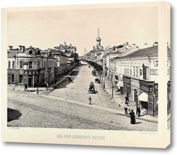 Картина Новая басманная,1888