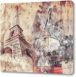Картина Балерина Парижа