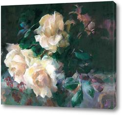 Картина розы 9 от F. Mortelmans
