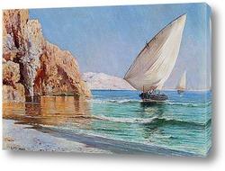 Картина Прибывающие лодки