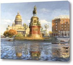 Картина Исакиевская площадь