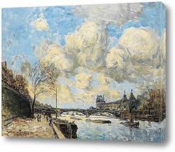 ПАРИЖ, Сена и Лувр