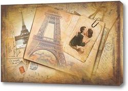 Картина Романтика Парижа
