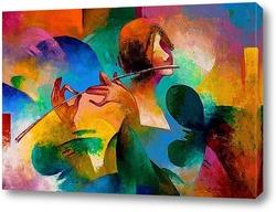 Картина Флейтистка