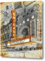 Картина Ретро Чикаго