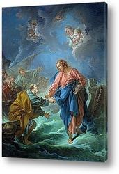 Картина Святой Пётр, приглашённый ходить по воде