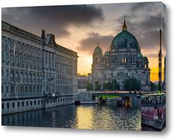 Картина Берлин вечерний
