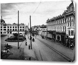 Картина Большая Покровская улица 1904  –  1917