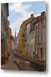 Картина Приходская улица в Берлине