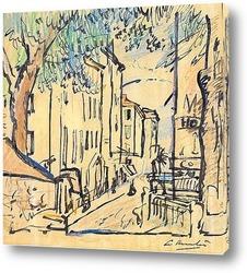 Картина Улица в Провансе