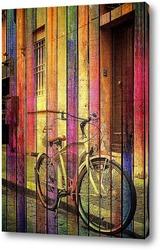 Картина Ретро велосипед