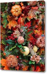 Картина Яркие дары осени