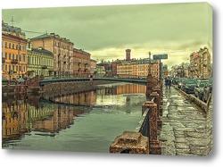 Санкт-Петербург. Канал Грибоедова. Коломенский мост.