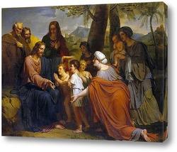 Картина Христос, благословляющий детей