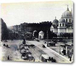 Картина Невский проспект 1888  –  1891