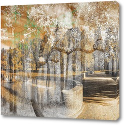 Картина Дорога в лес