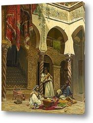 Интерьер мавританского дома