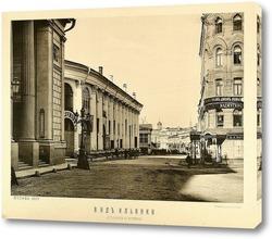 Картина Вид на Ильинку 1887 год