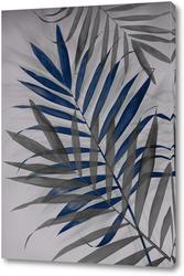 Картина Тропические листья 2