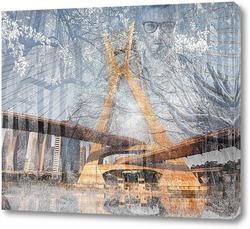 Картина  Мост Октавио Фриаса
