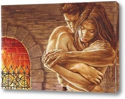 Любовь у камина