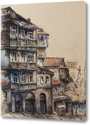 Картина Старый дом