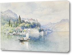 Картина Вилла Акрмоатик, озеро Комо