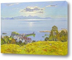Картина Во второй половине дня солнце Ферт-оф-Клайд