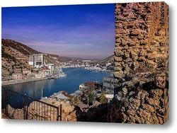 Картина С видом на Балаклавскую бухту
