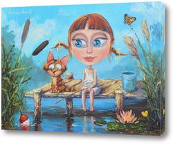 Картина Рыбалка