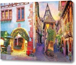 Картина Красочная улочка