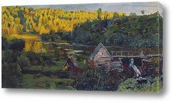 Водяная мельница. 1888