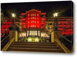 Картина Отель Империал в Карловых Варах