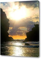 Картина Закат в Бискайском заливе