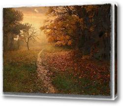 Картина Осенняя тропинка