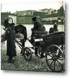 Кучер и продавец, 1896