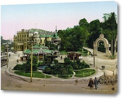 Картина Киев, Купеческое Собрание