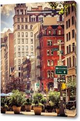 Картина New york broadway