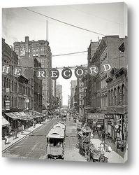 Картина Чикаго, штат Иллинойс, 1900