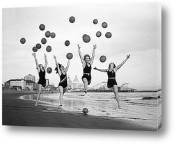 Танец с мячами на Лонг Бич.1932г.