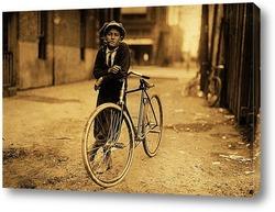 Картина Посыльный телеграфа Маккей, Вако, штат Техас, 1913