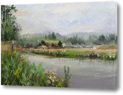 Картина Река Дарья