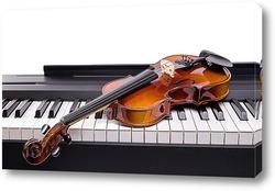 Картина Скрипка на клавишах