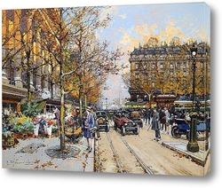 Картина Площадь ла Мадлен