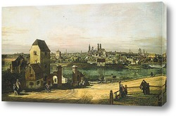 Картина Вид Мюнхена
