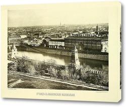 Картина Вид с Ивановской колокольни,1884