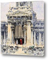 Картина Брюссель: здании суда