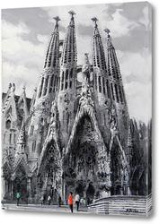Картина Барселона, Саграда Фамилия