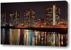 Картина Городской пейзаж